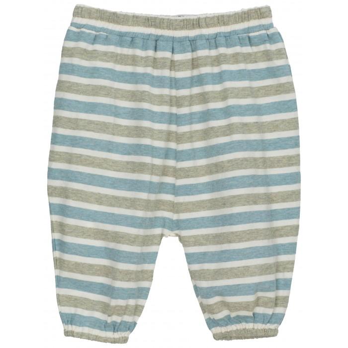 Baby Jersey Pants - Ocean-Sage stripe