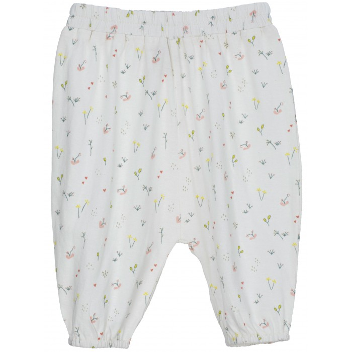 Baby Jersey Pants - Tiny Flowers