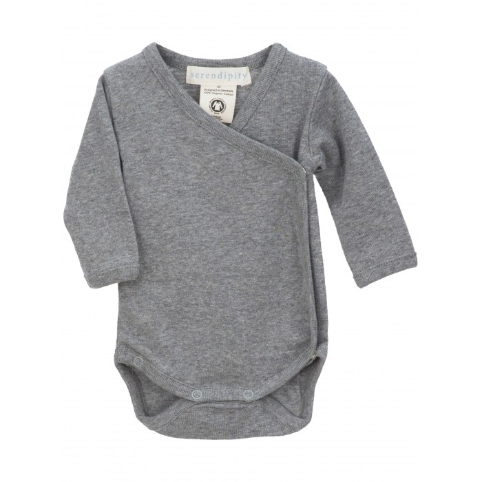 Newborn wrap body - Grey