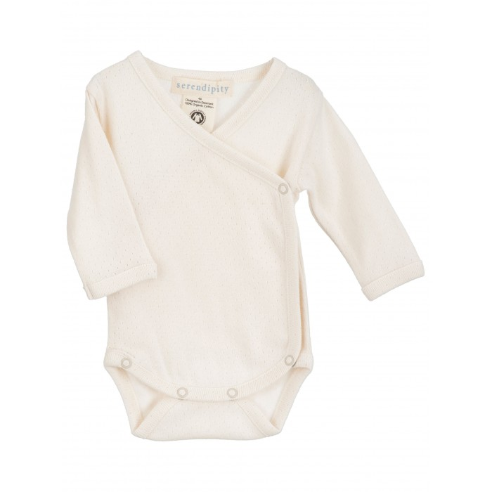 Newborn wrap body - Offwhite