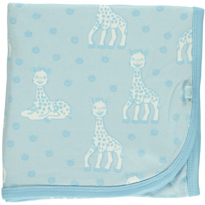 Baby blanket with Sophie la girafe - Omphalodes