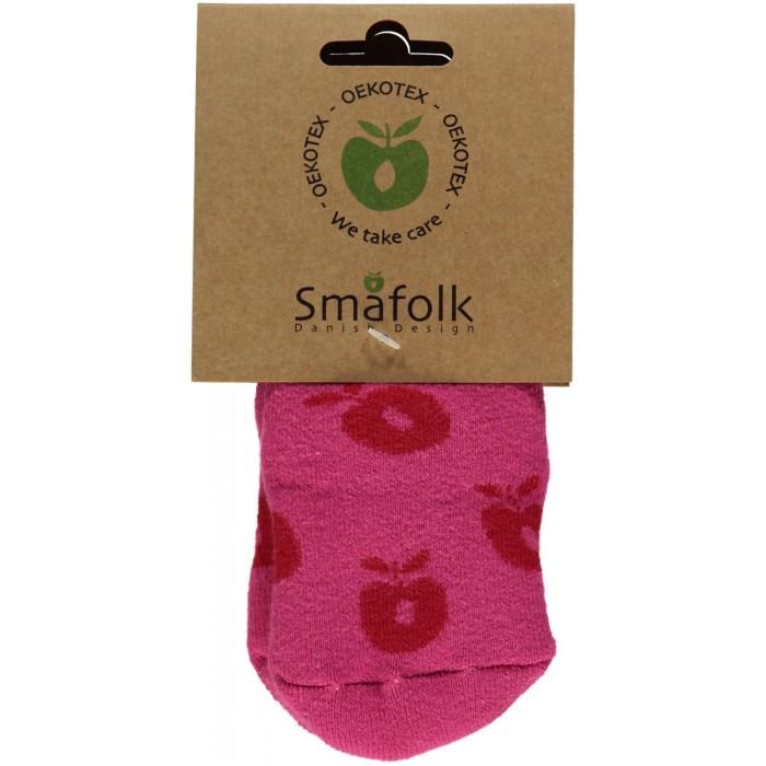 Non-slip ankle socks with Apples - Rapture Rose