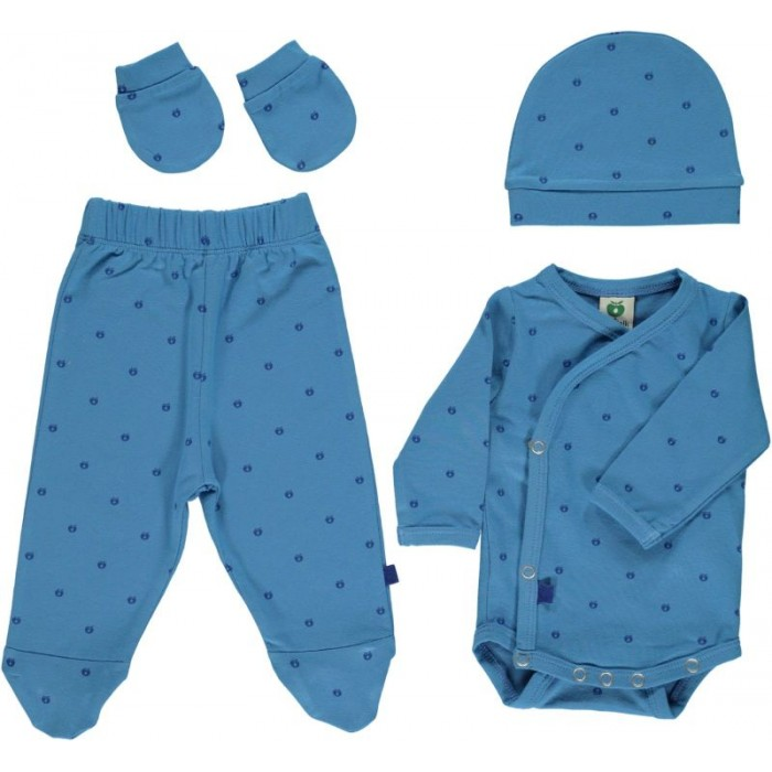 Newborn set - Cendre Blue