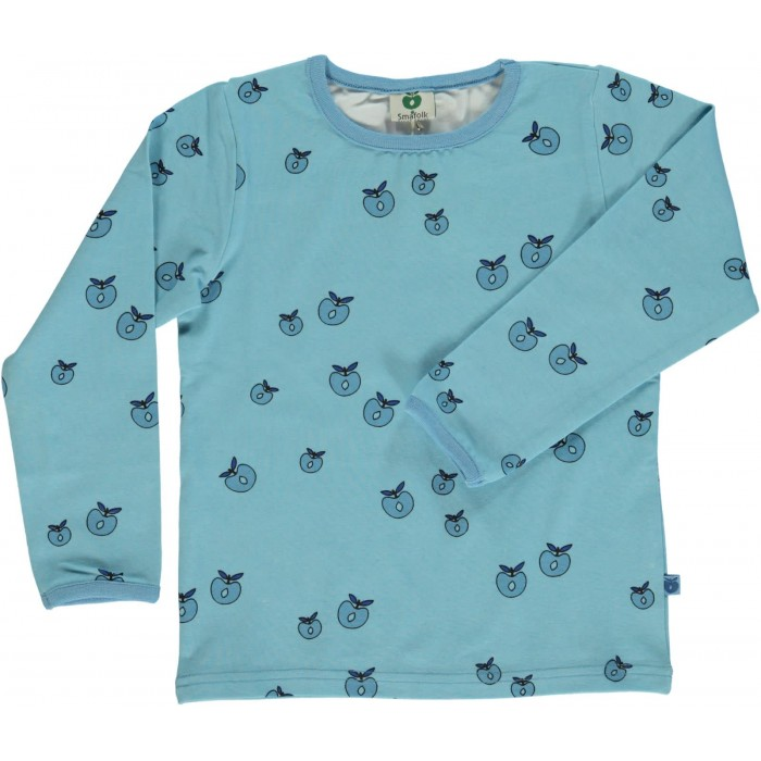 T-shirt with Apple - Air Blue