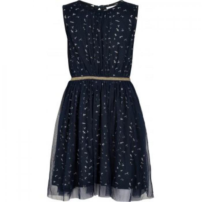 Anna Mary dress - Black Iris