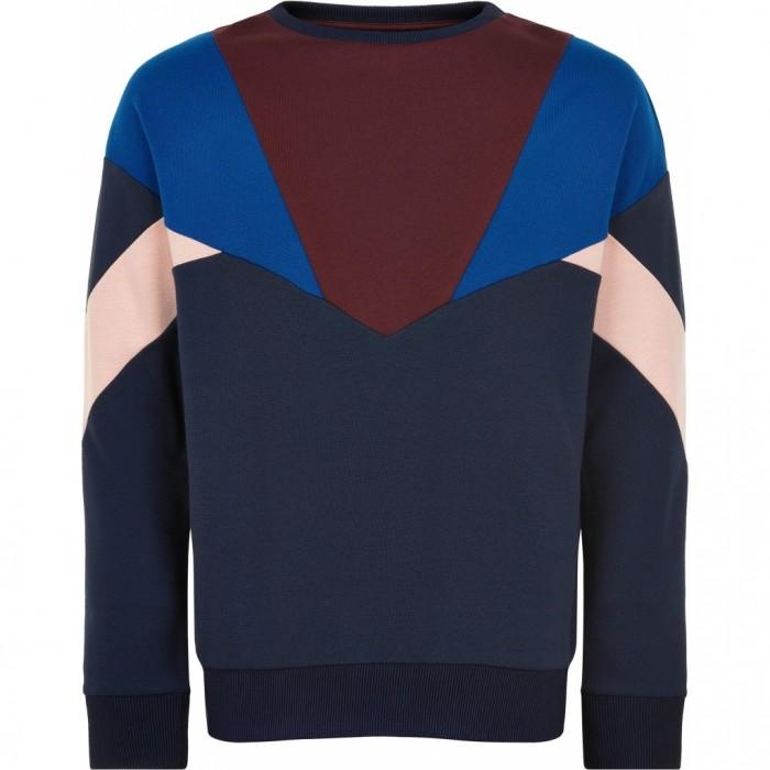 Mara School Sweatshirt - Navy Blazer